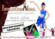 Clases de baile, canto y actuaciÓn para niÑos
