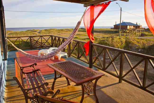 La paloma alquiler de cabaña frente al mar ubicacion privilegiada