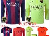 Camisetas de fútbol baratas la ultimas 2015