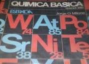 Vendo  libro de quimica basica