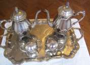 Hermoso juego de té original fb rogers. buen precio!