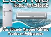 Reparacion de heladeras y aire acondicionado