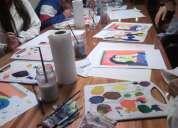 Clases de pintura y dibujo para jovenes de 11 a 14 años