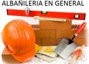 AlbaÑilerÍa, sanitaria, electricidad, pintura, reparaciones, reciclajes y mas.