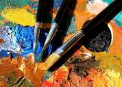 Clases de pintura en ciudad de la costa