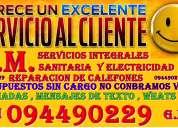 Service y reparacion de calefones todas las marcas y modelos