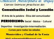 Estudie:periodismo -locución - comunicación social -