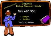 Clases particulares de bioquímica  y biología molecular 092 686 953