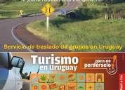 Servicio de transporte automotor privado más eficiente, en montevideo uruguay.