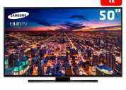 Ahorre usd500! led samsung 50 4k ultra hd smart tv wi fi,consultar!
