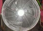 Vendo ventilador de pie super potente 4 velocidades rotativo