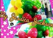 Curso de decoración artística con globos para fiestas y eventos.