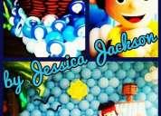 Curso de globos para fiestas infantiles