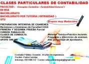 Clases particulares de contabilidad  facultad- ex eda – bachillerato cel. 091696312