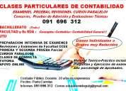 Clases particulares de contabilidad 091696312  bachillerato y facultad