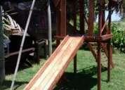 Vendo tobogán en madera