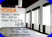 Clases de yoga y pilates ciudad vieja
