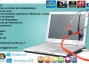 Reparacion pc axulio informatico incluye sab y dom