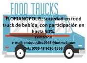 Florianópolis, sociedad para food truck