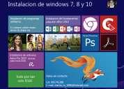 Instalación de windows 7, 8 y 10