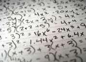 Clases de matemáticas,fisica y quimica todos los años.
