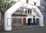 Arco meta inflable - alquiler y venta