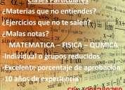 Clases particulares de física - matemática - química