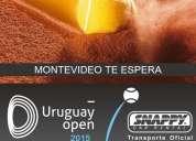 Servicio de transporte para uruguay open 2015.