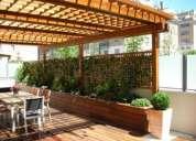 Construccion decks, pergolas, techos livianos