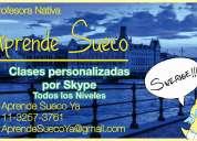 Clases de sueco por skype