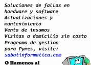 Tecnicos en pc - reparacion, actualizacion, software y hardware