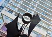 Uruguay: punta del este, torre yoo, departamento 2 dormitorios amoblado con vista playas