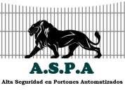 A.s.p.a  alta seguridad en portones automatizados.
