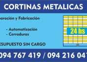 reparacion y fabricacion de cortinas metalicas