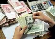 Oferta de préstamo de dinero disponemos