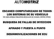 Inyección electrónica automotriz