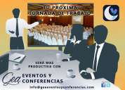 Eventos y conferencias empresariales