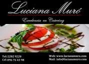 Servicio de catering uruguay, contratar servicio gastronómico uruguay