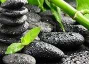 Piedras calientes masajes