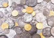 Monedas, billetes y medallas muy antiguos compro