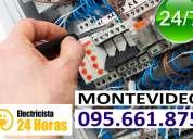 Electricistas en villa muñoz. (( 095661875 )) urgencias 24 horas firma ute