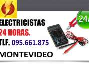 Electricistas en malvin. (( 095661875 )) urgencias 24 horas firma ute