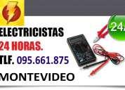 Electricistas en barrio sur. (( 095661875 )) urgencias 24 horas firma ute