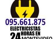 Electricistas en tres cruces (( 095661875 )) urgencias 24 horas firma ute