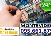 Electricistas en el mercado modelo