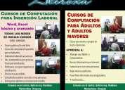 curso de computación para adultos y adultos mayores