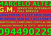 Calefones reparacion y service todas la marcas y modelos