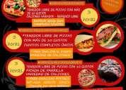 Catering para fiestas y eventos,  servicio all inclusive