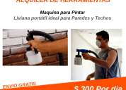 alquiler de herramientas maquina para pintar