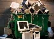 Retiro sin costo artículos electrónicos e informáticos en desuso.
